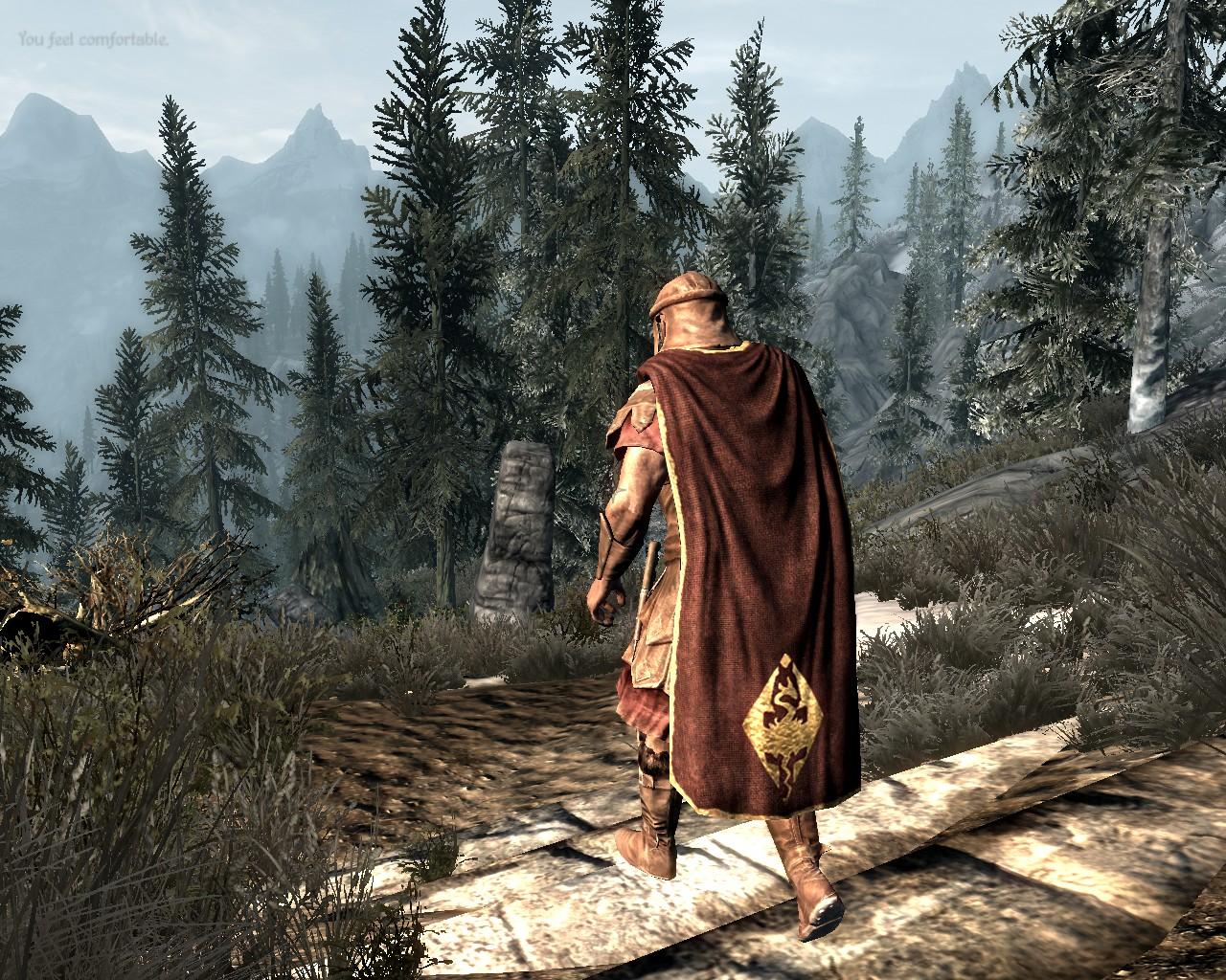 Скачать моды на скайрим cloaks of skyrim