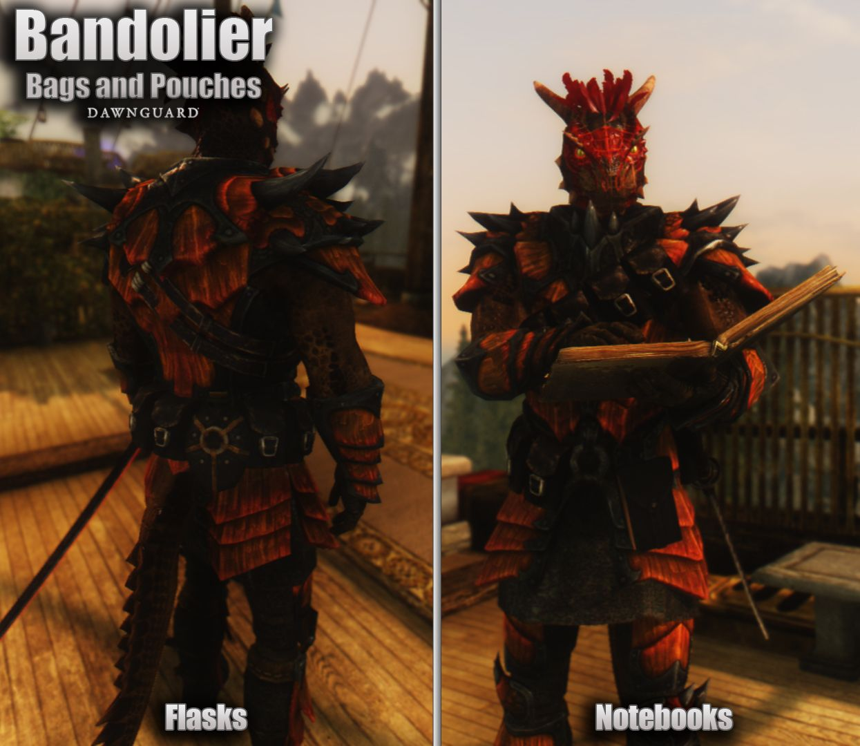 Bandolier Bags And Pouches Classic At Skyrim Special Edition