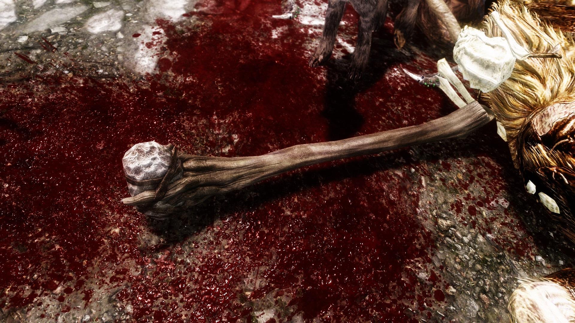 Скайрим мод Enhanced Blood
