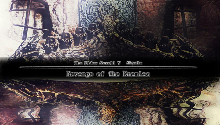 Скачать Мод На Скайрим Revenge Of The Enemies img-1