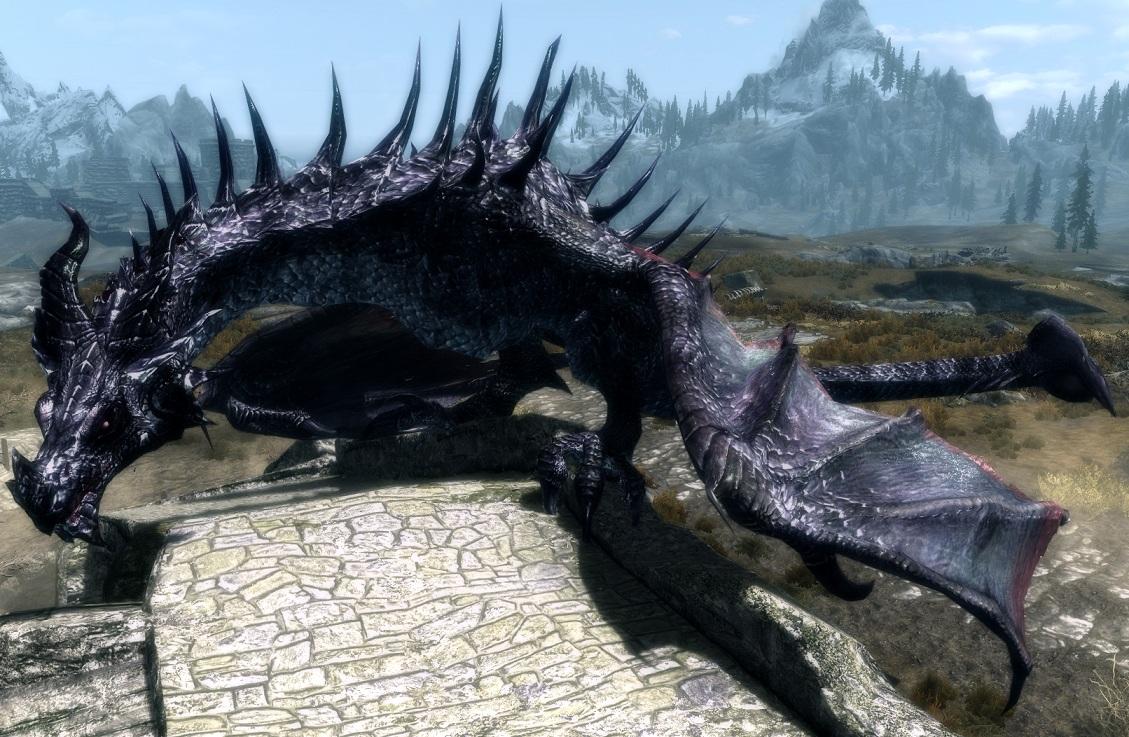 Deadly dragons мод скайрим скачать